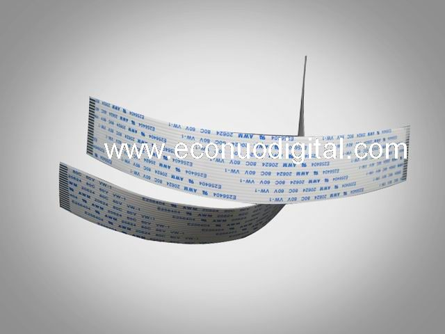 EW10022   wit-color 14P-250 printhead data cable