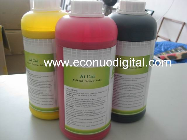 water based and Eco slovent based ink