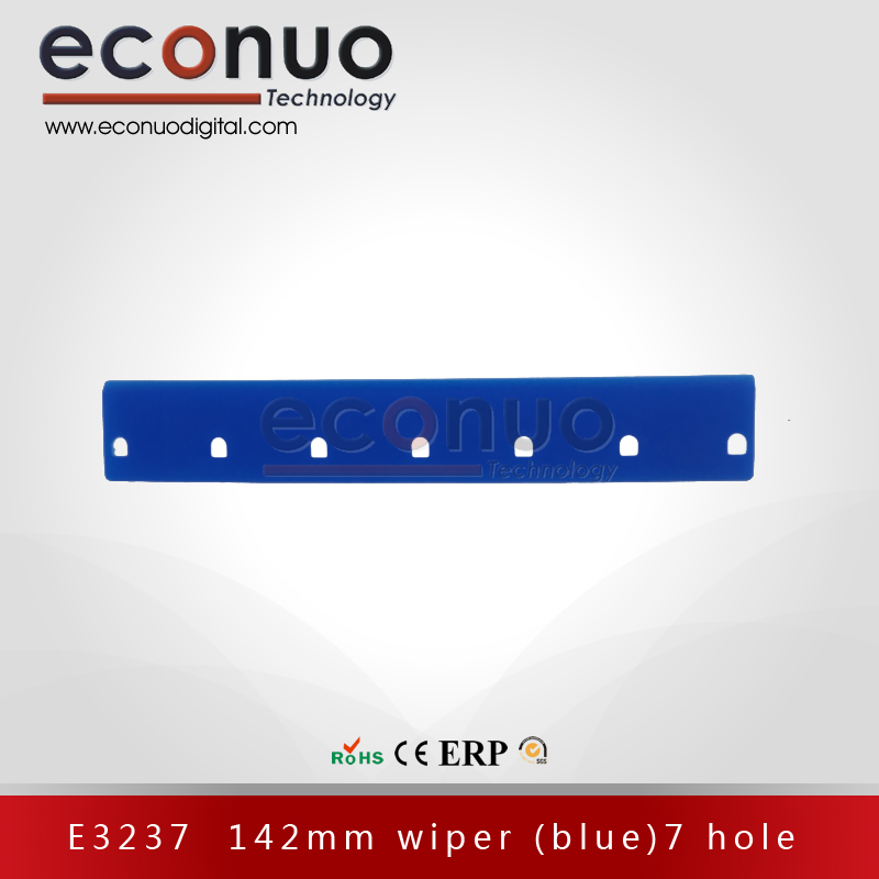 E3237  142mm wiper (blue) 7 hole E3237 142MM 刮片 (蓝)七孔