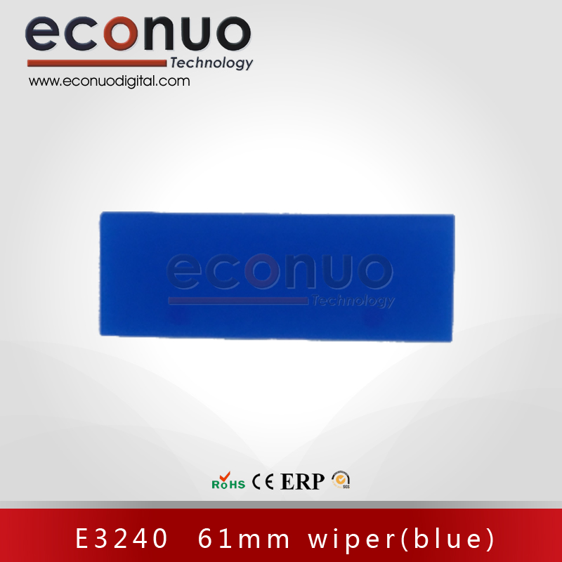 E3240  61mm wiper(blue)  E3240 61mm 刮片(蓝)