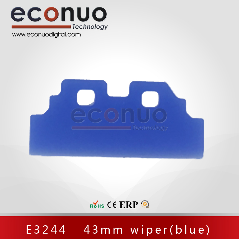 E3244   43mm wiper(blue)  E3244 43MM 刮片(蓝)