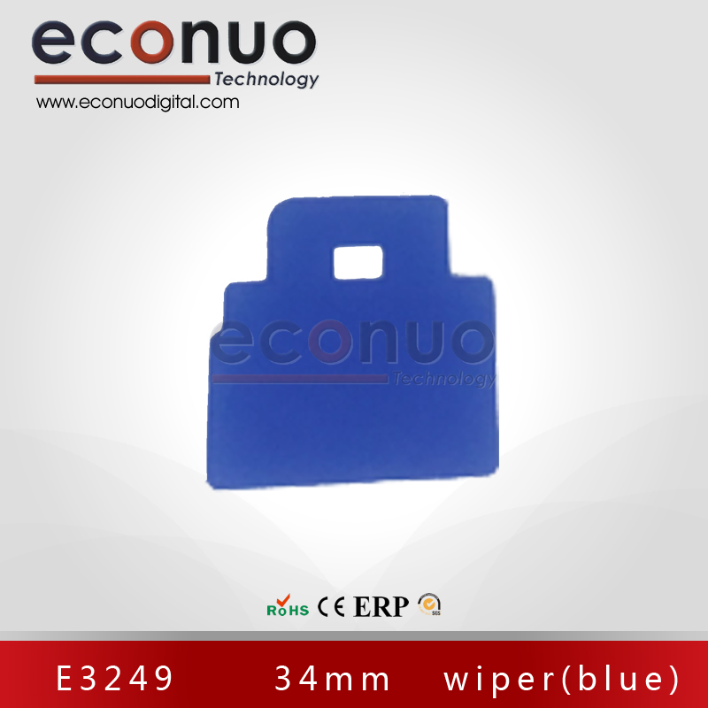 E3249      34mm   wiper(blue) E3249 34mm 刮片(蓝)