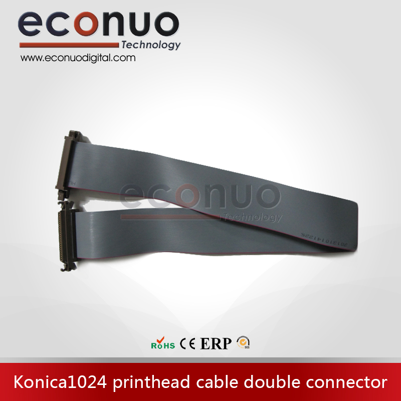 E10102-Konica1024-printhead-cable-double-connector